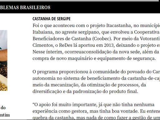 COOPERATIVA DOS CASTANHEIROS DO CARRILHO É DESTAQUE NA REVISTA PROBLEMAS BRASILEIROS.