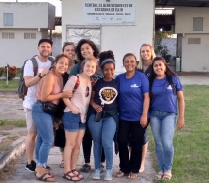 Americanos visitam o povoado Carrilho mais uma vez... Conhecimento e Cultura além fronteiras