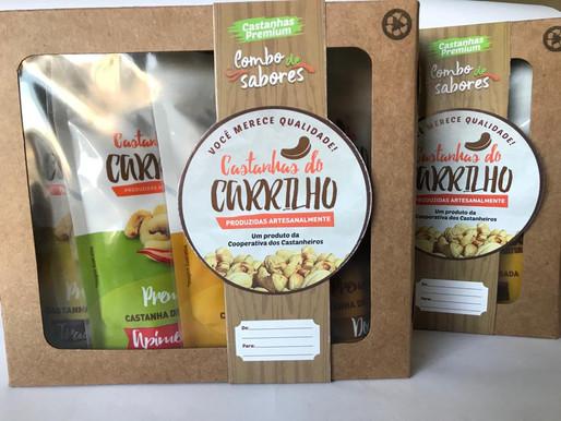 COMBO DE SABORES - NOVIDADE DA CASTANHAS DO CARRILHO