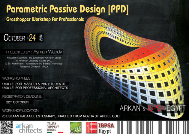 Parametric Passive Design [PPD] Arkan & IBPSA-Egypt | aymanwagdy