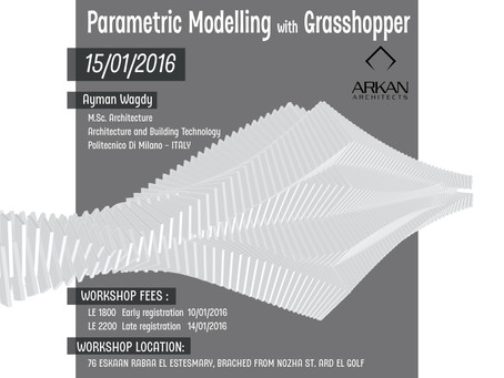 Parametric Modelling with Grasshopper