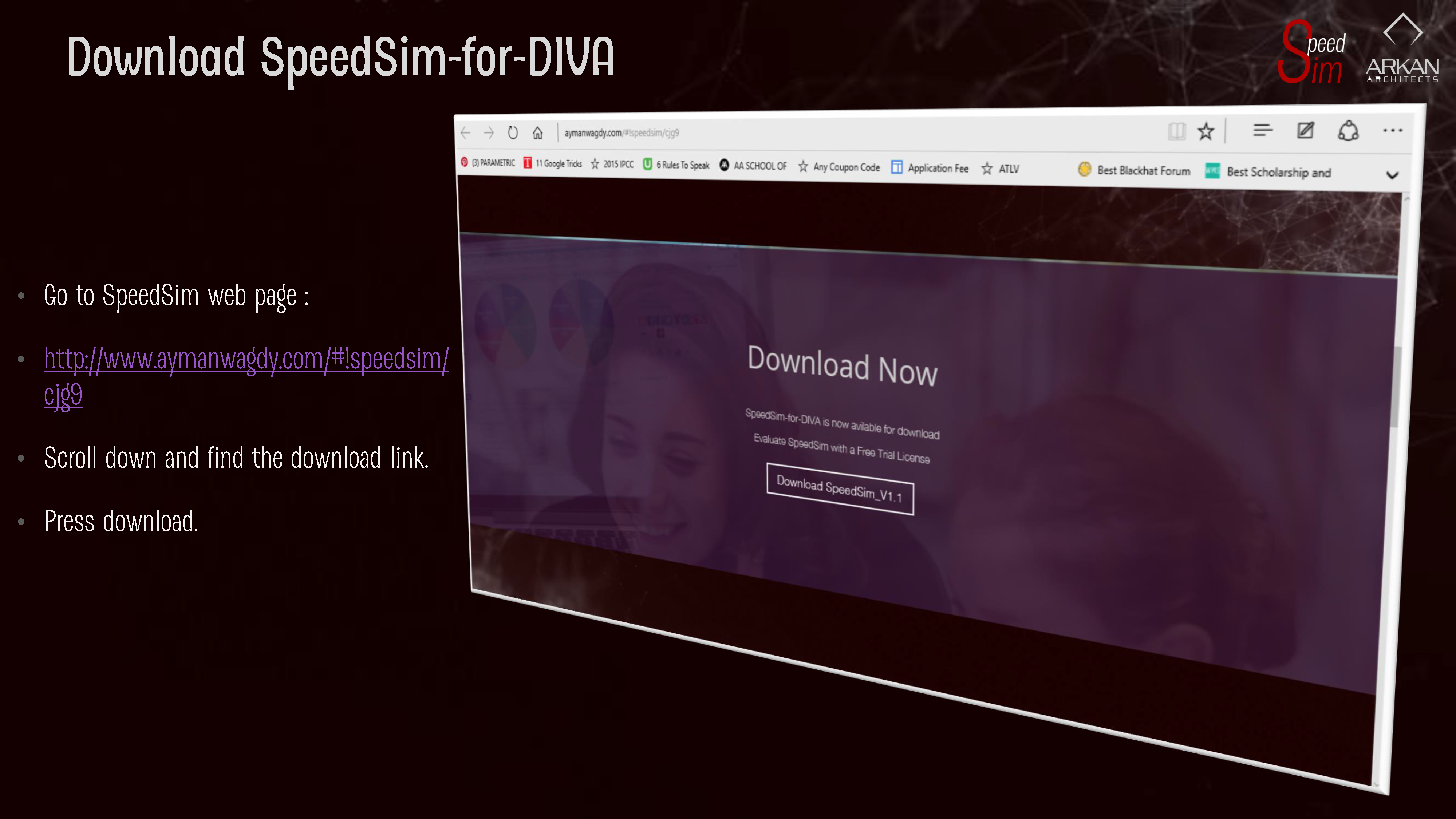 Download SpeedSim-for-DIVA