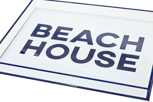 BEACH HOUSE LUCITE TRAY