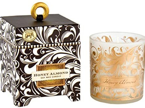 HONEY ALMOND SOY CANDLE 6.5OZ