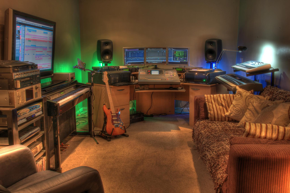 Recording Studio of Paul Stirling Taylor