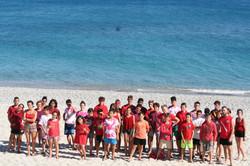 summer camp in spiaggia