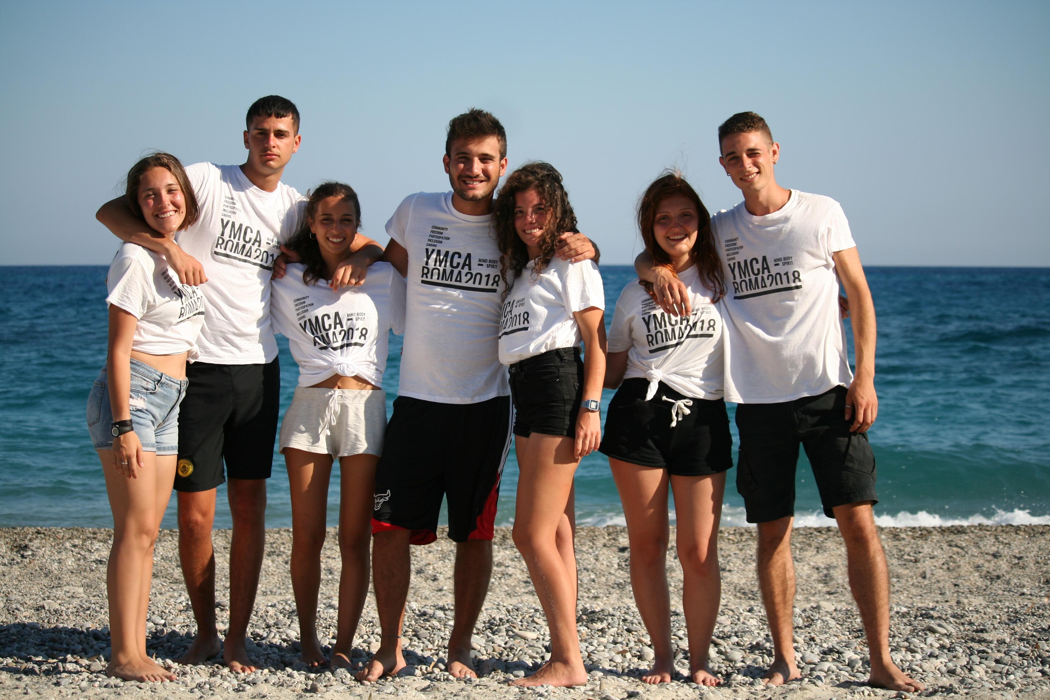 i volontari di ymca roma