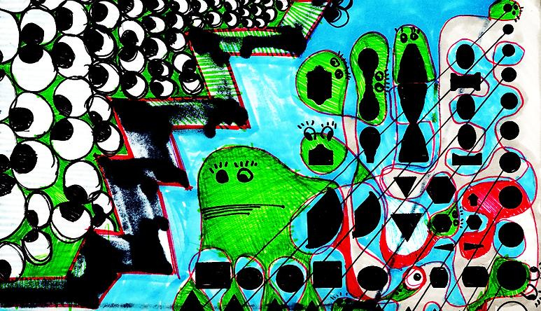 collage, Fabio Segre, graphic art