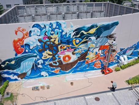 神戸ミューラルアートプロジェクトがFRIDAYデジタル 社会・文化枠に掲載されました
