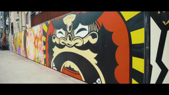 WALLSHARE主催の『道頓堀アートサミット』の映像
