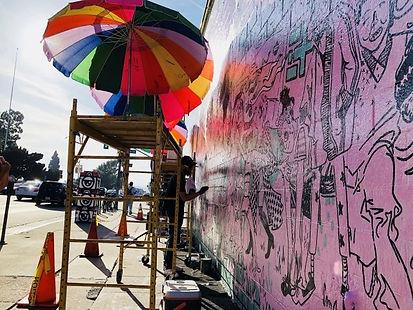 広告効果だけじゃない!魅力溢れる壁画アートを製作しよう!