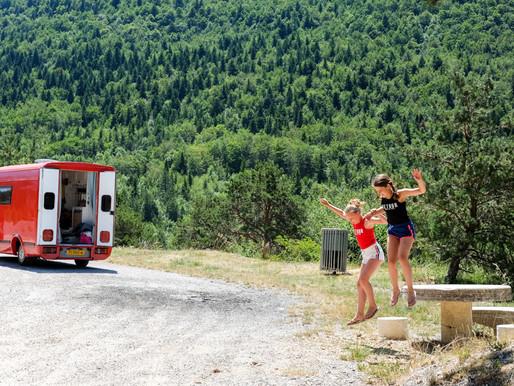 In 3 dagen met de camper naar Provence Alpes Côte d'Azur met kinderen.