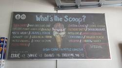 What's the Scoop | Caulk Mural
