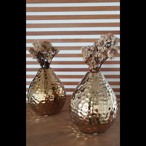 Mini Vaso Dourado