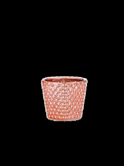 Cachepô em Cerâmica Gold Rose