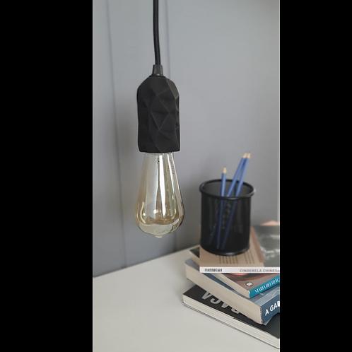 Luminária Pendente Preta