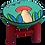 Thumbnail: Banqueta Infantil Cogumelo Pintada A Mão