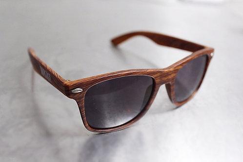 Wicks Wood Grain Sunglasses