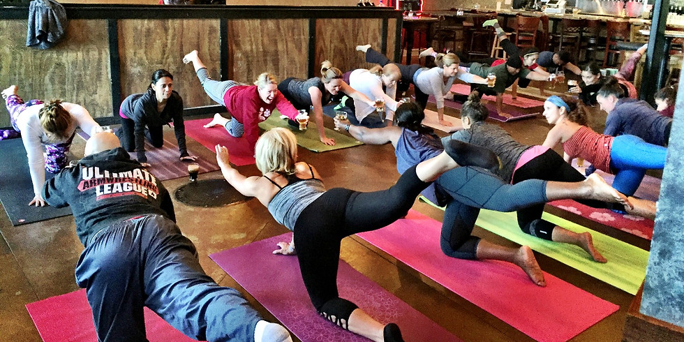 Poundfit, Yoga and Beer