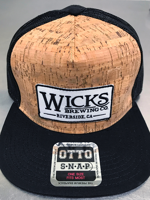 Wicks Cork Hat, Flat Bill