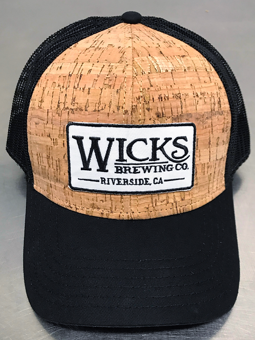 Wicks Cork Hat, Curved Bill