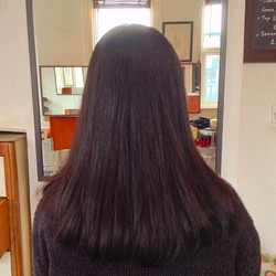 Straight perm with cut from £120
