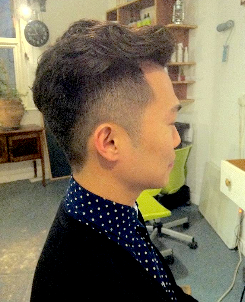Gents cut and partial perm from £80