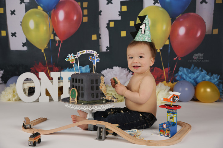 Baby's 1st Birthday Photography