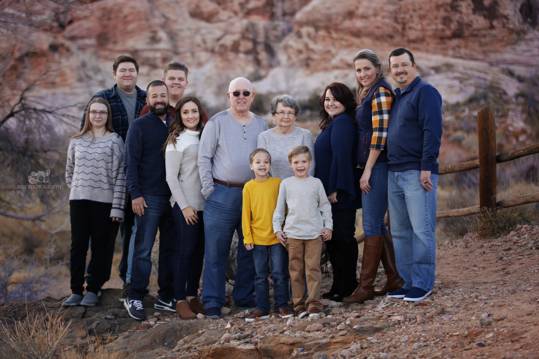 Family photographer in Las Vegas