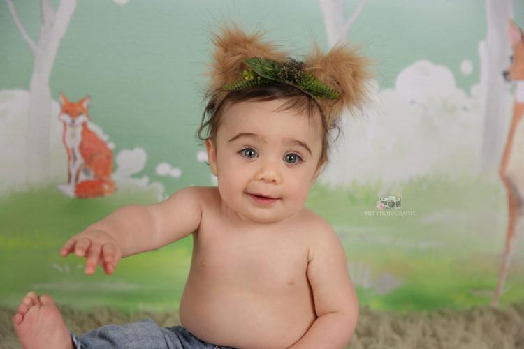 Baby Sebastian, 10 months old