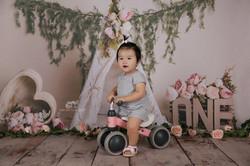 Baby's 1st birthday photography