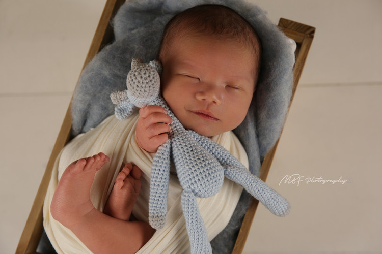 Newborn photos, Baby Jackson