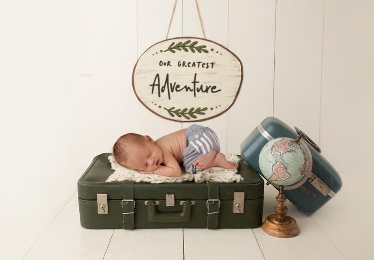 Jaxton- Newborn photo session Las Vegas