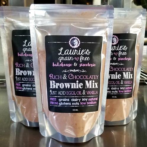 Grain-Free Rich Chocolate Brownie Mix