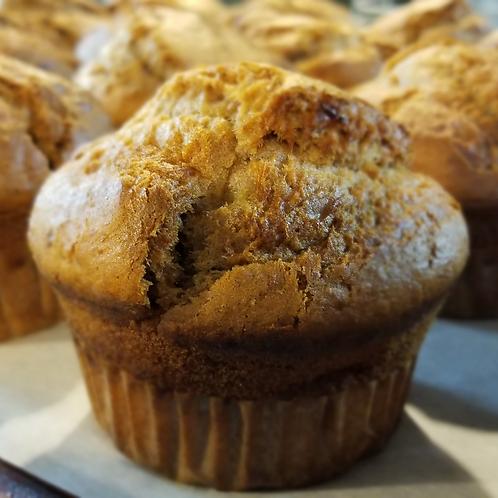 Grain-Free Banana Bread Muffins - 4 Pack