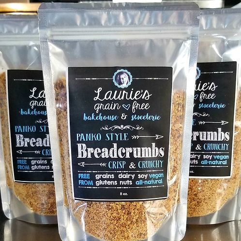 Grain-Free Panko Breadcrumbs CASE