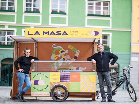 LA MASA - Echte mexikanische Tacos vom Foodbike in Memmingen, wie cool!