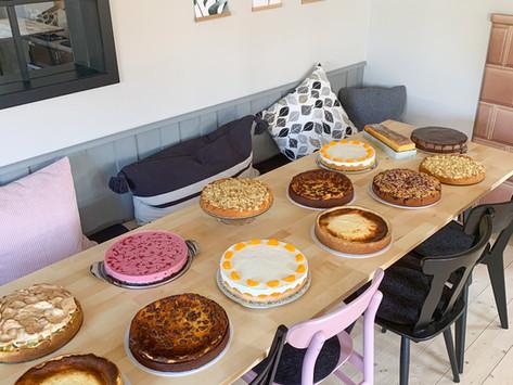 """Cafe Zenzimilia News – ToGo Eröffnung, wie viele Kuchen? und das Gunzesrieder """"Bänkle-Reel"""""""