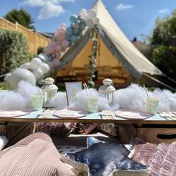 Sweet Dreams bell tent +picnic