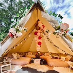 Tribal Princess bell tent