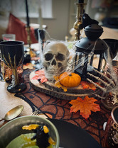 Halloween luxe picnic
