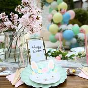 Easter garden party + picnic