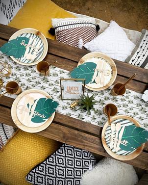 Glam Safari picnic
