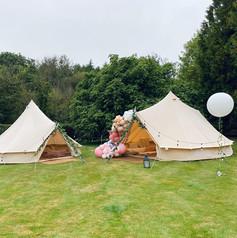 Enchanted Woodland craft + lounge tent