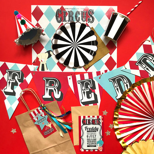VINTAGE CIRCUS - party box deluxe