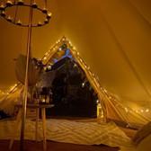 Tribal bell tent - inside