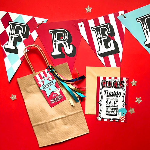 VINTAGE CIRCUS - party bags