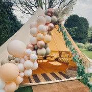 Boho Chic lounge tent