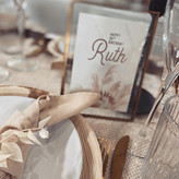Boho Chic table sign