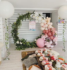 Enchanted Fairyland picnic and moongate